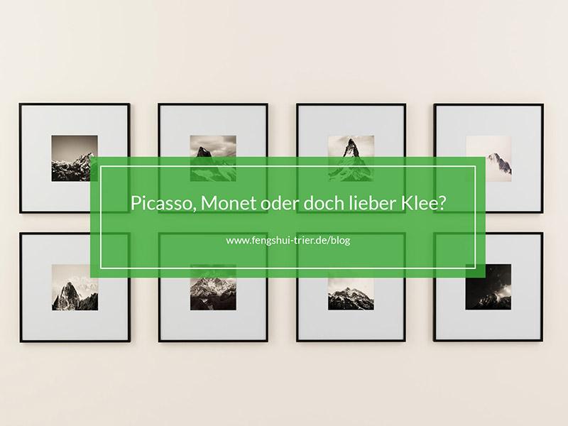 Picass, Monet oder doch lieber Klee?