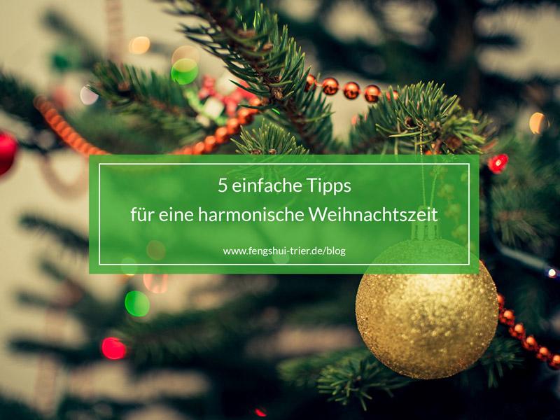 5 Tipps für Weihnachten
