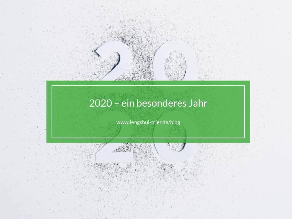 2020 – ein besonderes Jahr