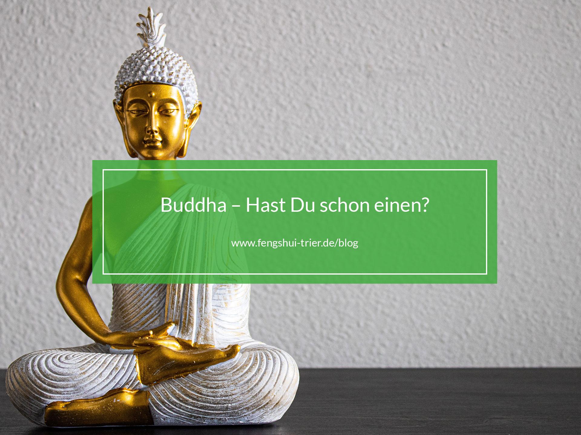 Abbildung einer Buddha Statue